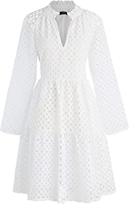 Rebecca Dress in Eyelet