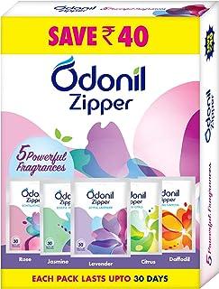 Odonil Bathroom Air Freshener Zipper Mix -50gm (10gm*5)