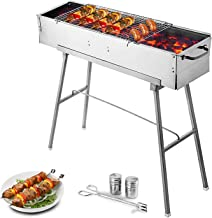 VEVOR Folded Portable Charcoal BBQ Grill 32