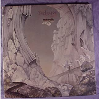 Yes - Mint / NM Stereo Lp & Original Gatefold Cover & Printed Lyric Sheet Inner Sleeve - Relayer - Atlantic 1974