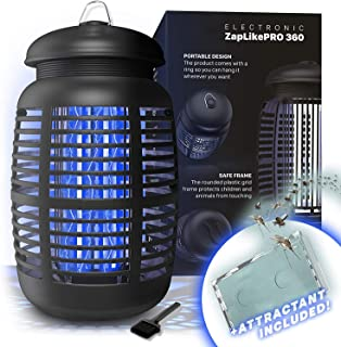 Bug Zapper & Attractant - Effective Electric 220-240V Mosquito Zappers/Killer - Insect Fly Trap, Waterproof Outdoor/Indoor...