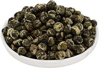 Mozentea Imperial Jasmine Dragon Pearls Green Tea Loose Leaf -Chinese Tea ((100G(3.5OZ)))