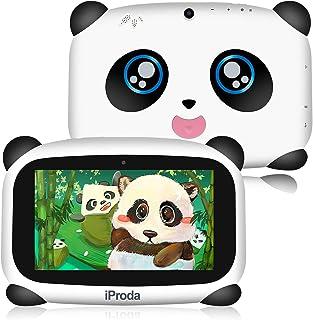 iProda Tablet para Niños 7 Pulgadas 4000MAH Android 9.0 Quad Core 2GB 16GB,Control Parental,Google Play preinstalado con E...