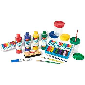 Delta Children Painted Wood double face Chevalet–Gris Delta Children Products TE87600GN-026