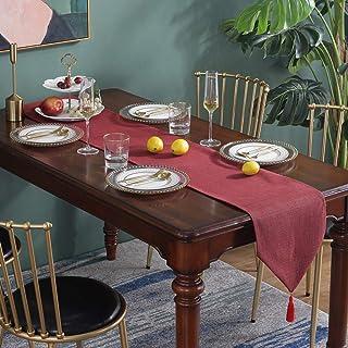 Chemin Table Antidérapant Parkarma 30 * 180cm Chemin Table Manger Chemins Table Plein Air Facile à Nettoyer Écharpe Commod...