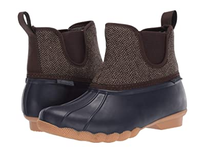 SKECHERS Pond Staying Dry (Navy/Brown) Women