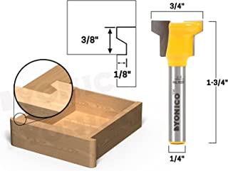 Yonico 15032q Reversible Drawer Front Joint Router Bit 1/4-Inch Shank