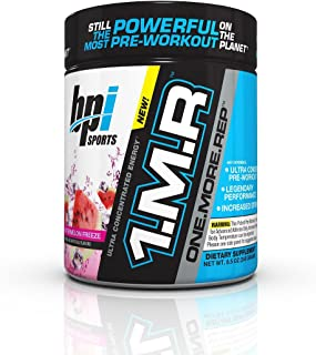 BPI Sports 1.M.R One More Rep Ultra Concentrated Energy Supplement, Watermelon Freeze Supplement, 8.5 Ounce