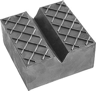 Rev/êtement en caoutchouc 120 x 20 mm avec surface gaufr/ée pour cric et /él/évateurs.