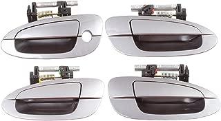 CF Advance For 02-06 Nissan Altima W40 Precision Gray Set 4PCS Outside Door Handle 2002 2003 2004 2005 2006