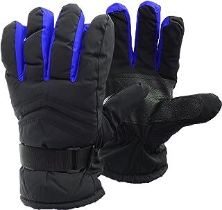 comprar comparacion FLOSO - Guantes de esquí / invierno termicos acolchados e impermeables con adherencia Unisex hombre mujer