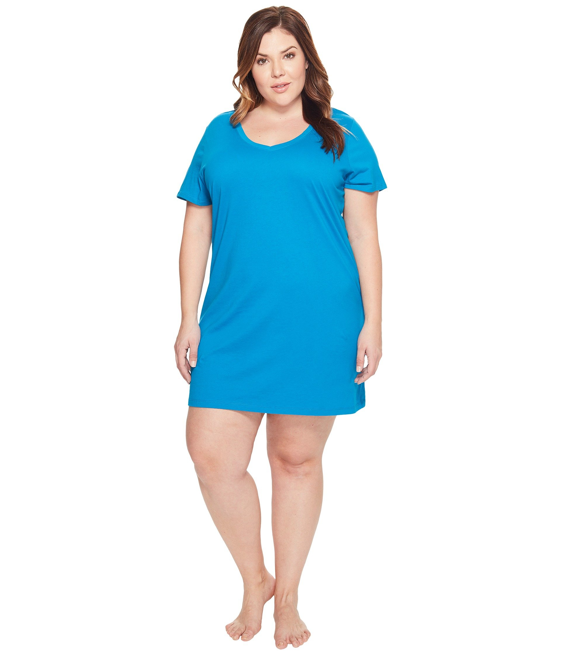 Babydoll Jockey Jockey Cotton Essentials Plus Size Sleepshirt  + Jockey en VeoyCompro.net