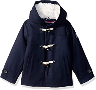 Boys' Toddler Faux Wool Coat with Toggle Closure