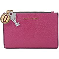 Marc Jacobs Saffiano Leather Wallet (Pink)