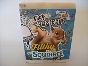 product image for Filthy Squirrel all natural glycerin BAR SOAP Almond Coconut by Filthy Farmgirl