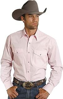 Roper Men's Solid Poplin L/S Shirt