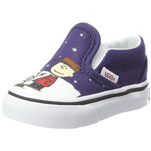 Vans Toddlers Slip-On (Peanuts) Charlie Brown Christmas