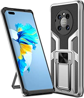 Grandcaser Case for Huawei Mate 40 Pro Ultra-thin PC+TPU Shockproof Armor Bumper Bracket Back Cover Anti Fall Protective C...
