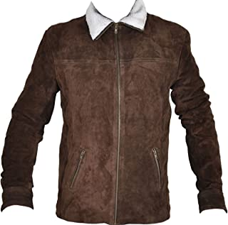 Classyak Grimes Series Suede Leather Jacket. Xs-5xl