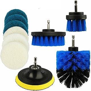 10Pcs Scrub Drill Brush Multi-purpose Kit Power Drill Cleaning Attachments All Purpose Deep Clean