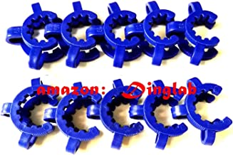 Dinglab,Plastic Keck,19# Laboratory Lab Clamp Clip,Keck Clip,19/22,19/26,19/38Conical Interface Clip,10pcs