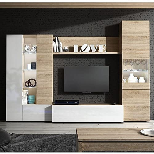Tv Media Units With Storage Amazoncouk