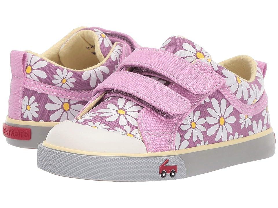 See Kai Run Kids Robyne (Toddler/Little Kid) (Purple Daisy) Girl