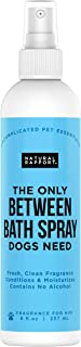 Natural Rapport Dog Cologne - The Only Between Bath Spray Dogs Need, Convenient, Between-Bath Deodorizer Conditioner Spray and Pet Urine Odor Eliminator Perfume (Male & Female)