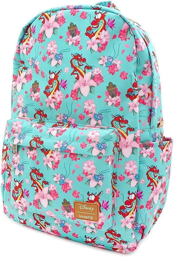 Disney Mulan And Mushu Mojo Life Camp School Book Bag Backpack