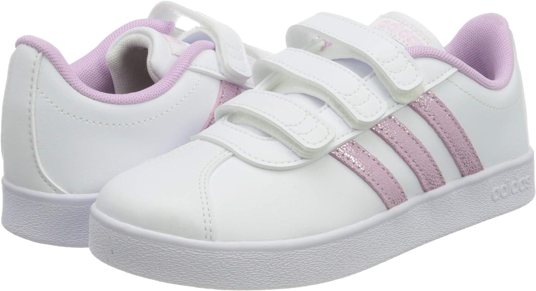 adidas VL Court 2.0 CMF C, Chaussure de Piste d'athltisme Mixte ...