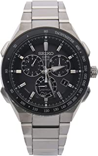 Seiko Astron GPS Solar Quartz (Battery) Grey Dial Mens Watch SSE129 (Certified Pre-Owned)