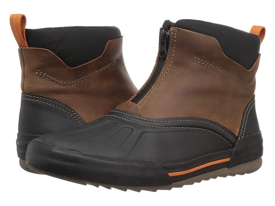 Clarks Bowman Top (Dark Tan Waterproof Leather) Men