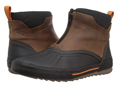 Clarks Bowman Top (Dark Tan Waterproof Leather) Men