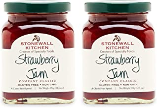 Stonewall Kitchen Strawberry Jam, 12.5 Ounces (Pack of 2)