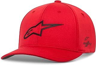 Alpinestars Men's Logo Flexfit Tech Hat, Cuvred Bill Structured Crown