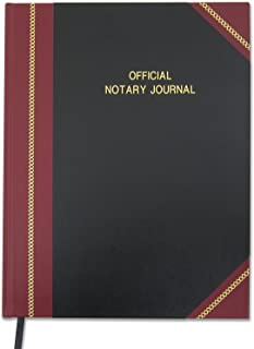 BookFactory Official Notary Journal/Log Book 50 State Journal of Notarial Acts Hardbound 336 Pages - 1340 entries