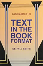 Text in the Book Format