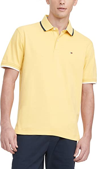 Tommy Hilfiger Men's Flag Pride Polo Shirt in Classic Fit