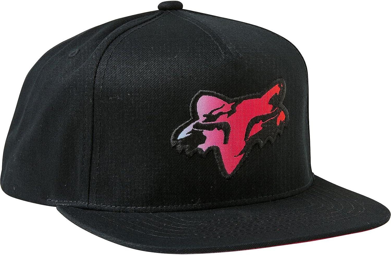 Fox men's Pyre Snapback Hat Black, One Size