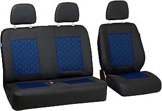 Grise velour Sitzbezüge pour Volkswagen Scirocco Siège-auto référence complet