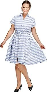 Best blue white striped maxi dress Reviews