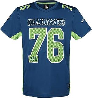 Majestic Athletic Seattle Seahawks NFL Moro Poly Mesh Jersey T-Shirt Trikot
