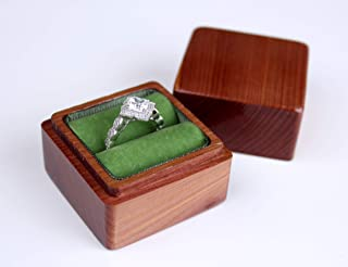 Cedar Wood Ring Box