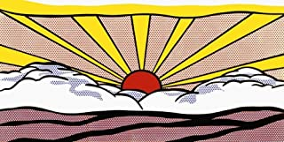 Sunrise, c.1965 Art Print Art Poster Print by Roy Lichtenstein, 21x13