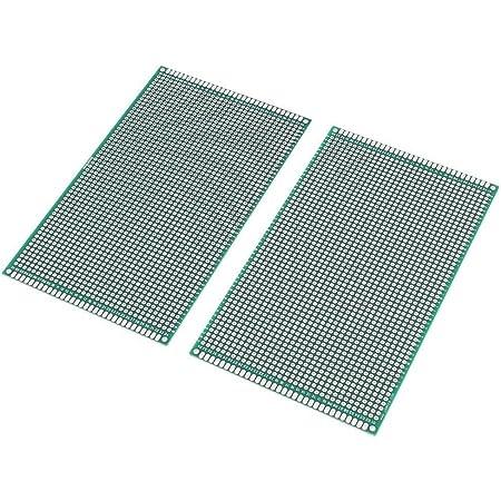 3Pin Placa de circuito impreso Terminal de tornillo 20PCS Conector de encabezado macho Kyrio 60PCS Kits de placa de PCB 20PCS Tableros de prototipos de PCB de doble cara 20PCS 2