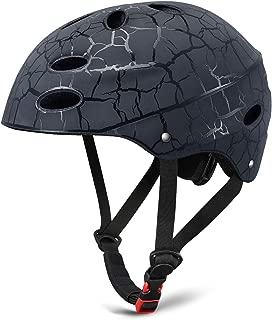 KUYOU Skate Helmet Adjust Size Multi-Impact ABS Shell for Kid Cycling/Skateboarding/Skate Inline Skating/Rollerblading