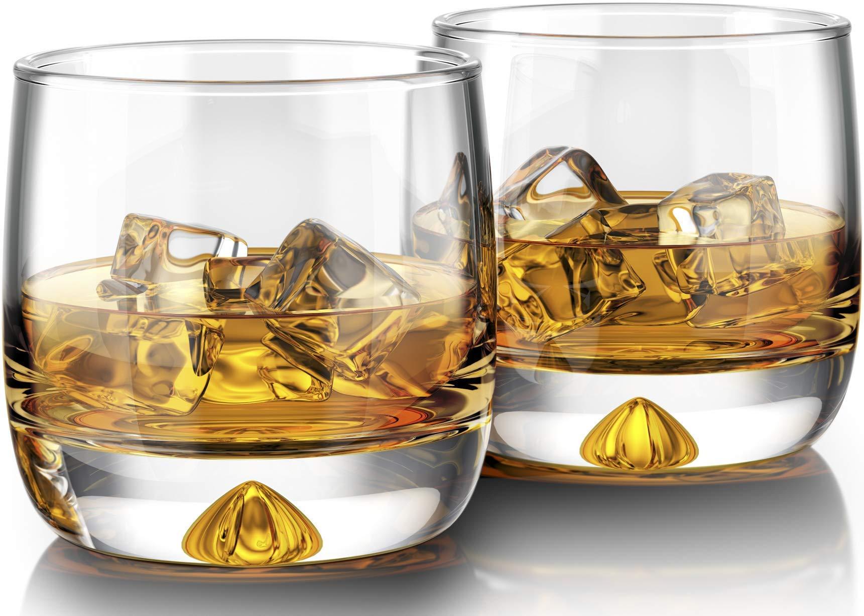Premium Whiskey Glasses Manhattans Fashioneds