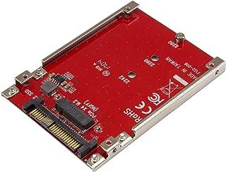 محول مهايئ StarTech.com M.2 إلى U.2 - بالنسبة إلى محركات الأقراص الصلبة NVMe من نوع M.2 PCIe NVMe - PCIe M.2 محرك إلى U.2...
