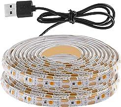 FLAMEER LED Grow Light Strips SMD 2835 Chip voor Plant 5V USB Indoor Kas Hydrocultuur Plant Groeit - 1.5M