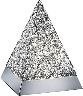 Reality Paul Sobremesa Integrado, 5.5 W, Aluminio Pulido, 15,2 x 15,2 x 20,5 cm